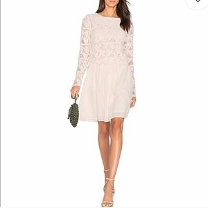 See By Chloé Long Sleeves Lace Mini Dress